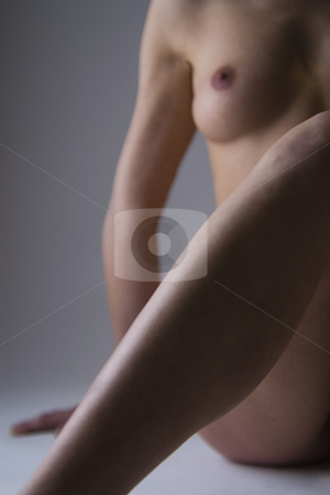 Naked half woman stock photo, Artistic nude portrait of half a woman by Frenk and Danielle Kaufmann